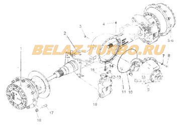 DRIVE AXLE ASSEMBLY