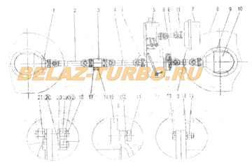 AXLE TRANSMISSION SYSTEM ASSEMBLY XUZHOU
